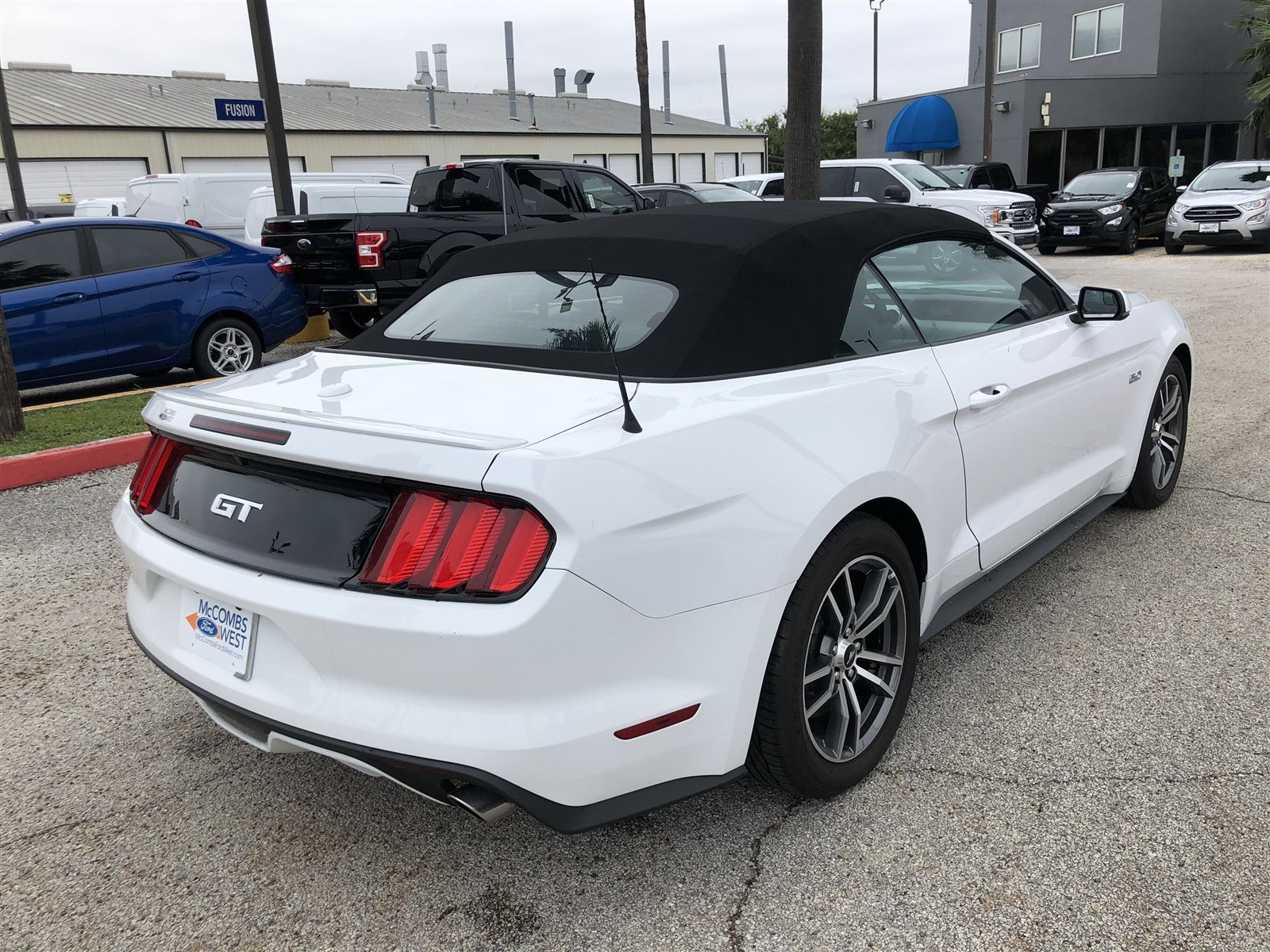 Pre Owned 2017 Ford Mustang GT Premium Convertible in San Antonio