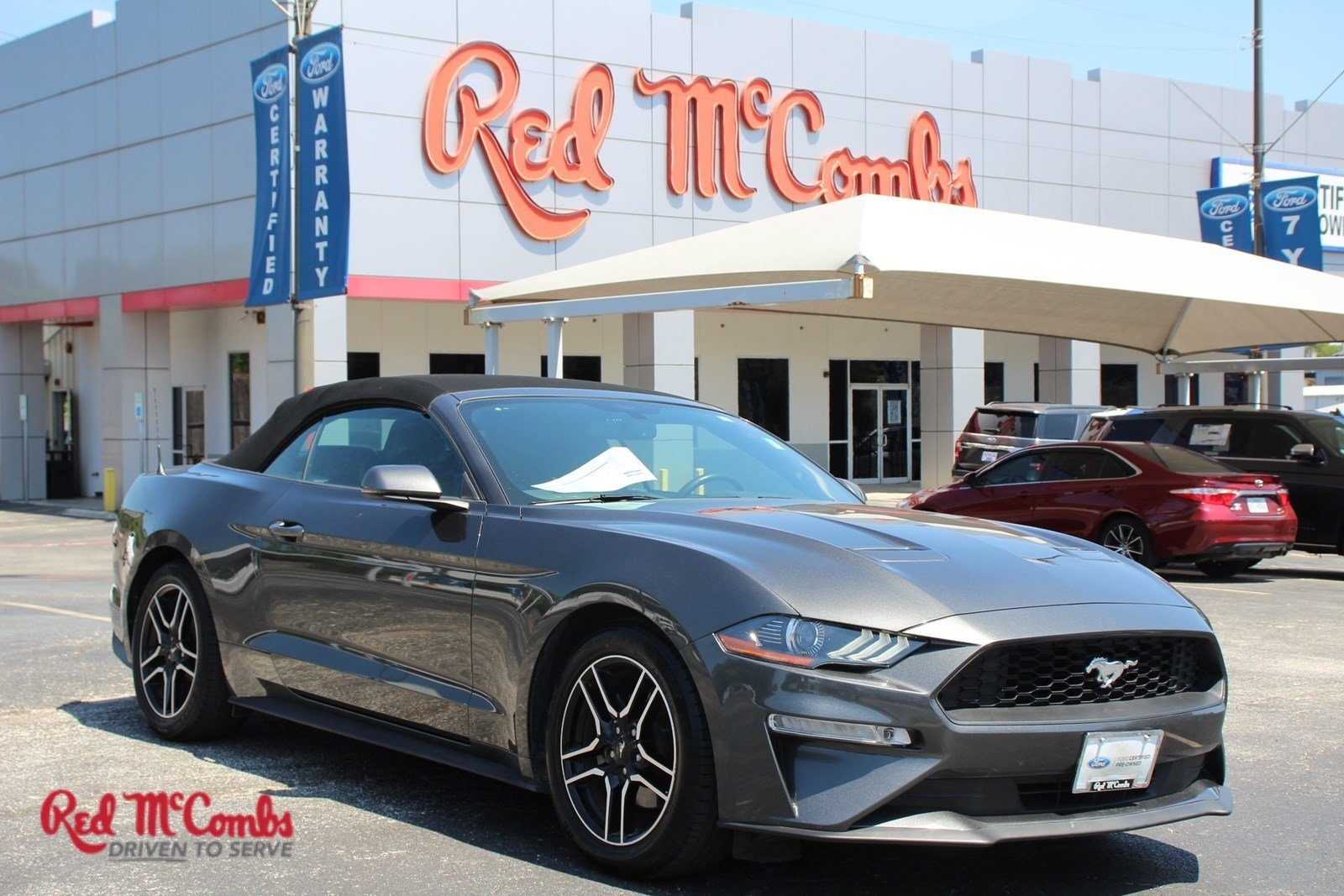 Pre Owned 2019 Ford Mustang Ecoboost Premium