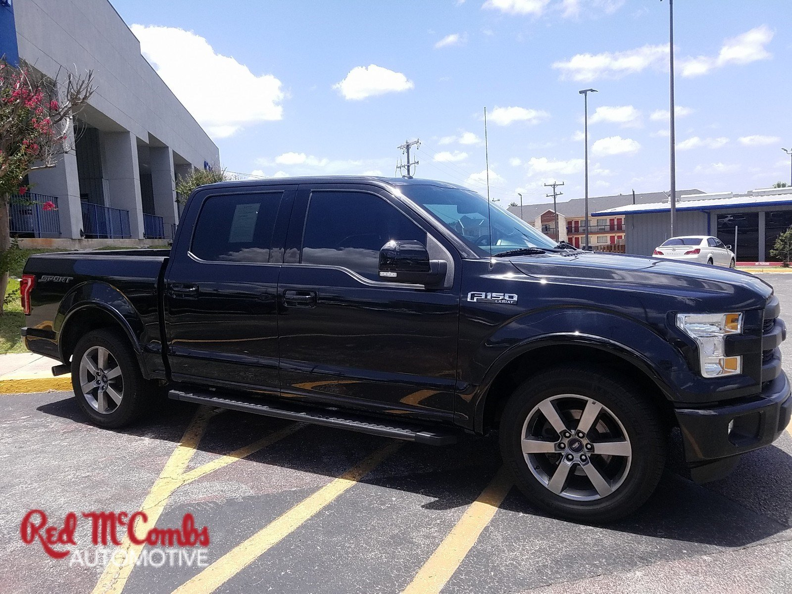 Pre Owned 2015 Ford F 150 Lariat Crew Cab Pickup in San Antonio