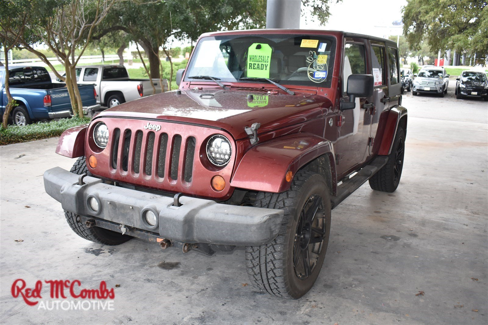 Pre Owned 2007 Jeep Wrangler Unlimited Sahara