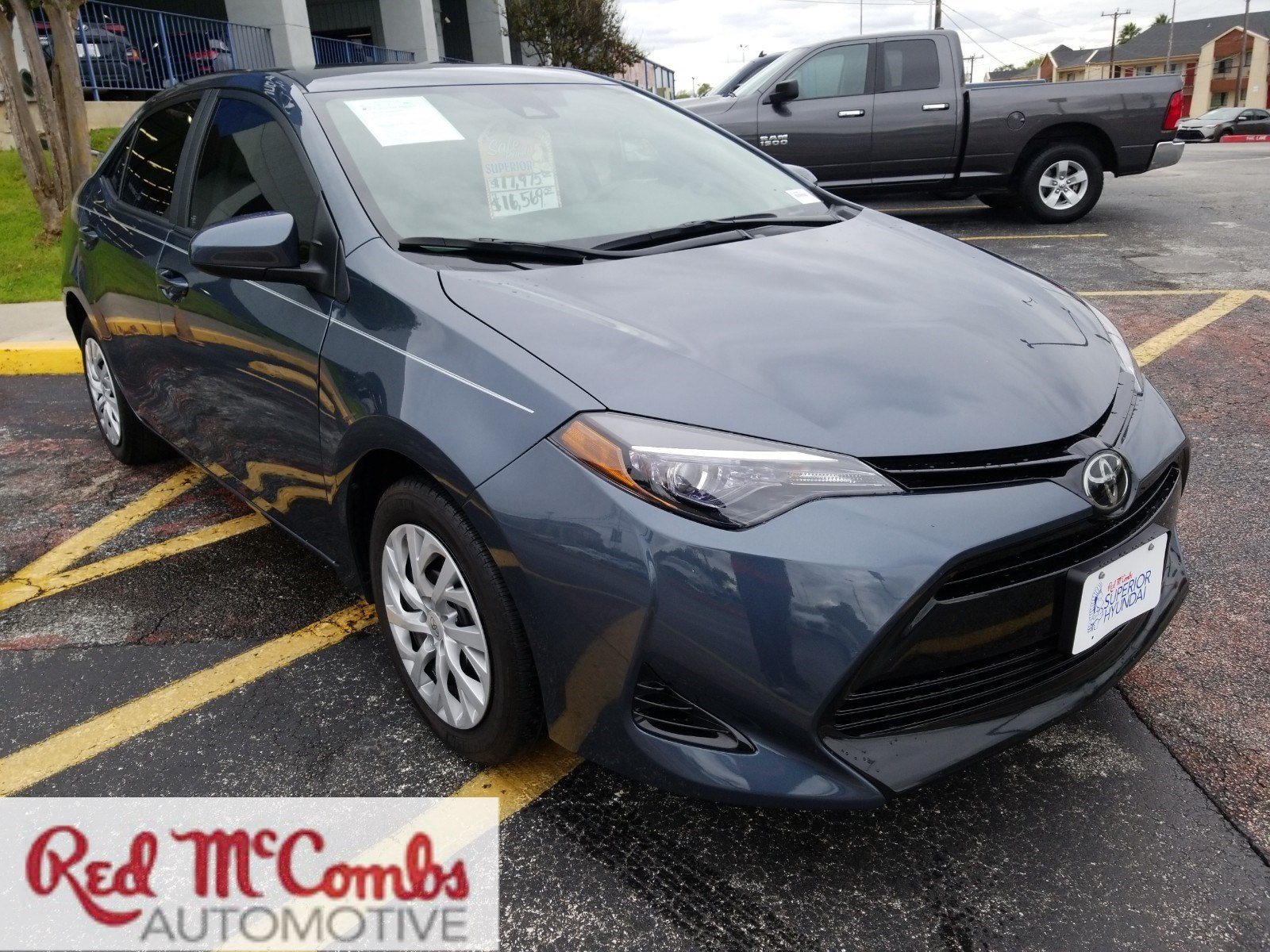 Pre Owned 2017 Toyota Corolla LE 4dr Car in San Antonio