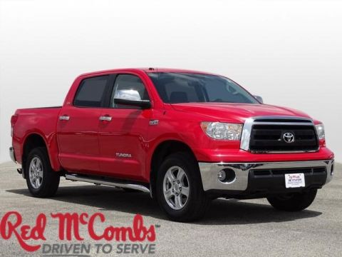 Pre-Owned 2012 Toyota Tundra CREW 4WD FFV V8 5 4WD Crew Cab Pickup