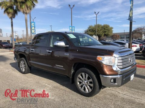 Pre-Owned 2015 Toyota Tundra LTD RWD Crew Cab Pickup