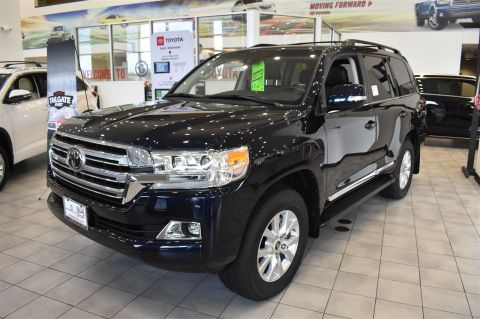 New 2018 Toyota Land Cruiser 4WD Sport Utility